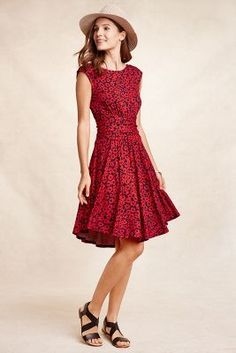 South Shore Dress #anthropologie - Moulinette Soeurs