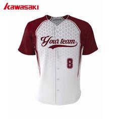 96af8da5068 2017 New Kawasaki Custom Baseball Top Jerseys For Men Women Polyester Fans  Breathable Softball Shirt Jersey Team Wear