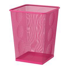 DOKUMENT Wastepaper basket - pink - IKEA