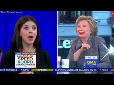Stephanopoulos Rescues Hillary Clinton From Answering Awkward Question About Bill