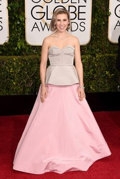 The 2015 Golden Globe Awards: Zosia Mamet