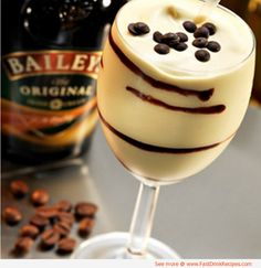 frozen mudslide | 2 oz vodka  2 oz Kahlua coffee liqueur  2 oz Bailey's Irish cream  6 oz vanilla ice cream    Directions:    Blend alcohol with ice-cream. Serve in a frosted hurricane glass and watch the world pass by.