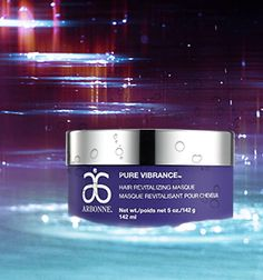 Created for chemically and color-treated hair, Arbonne Pure Vibrance Hair Revitalizing Masque contains exclusive ColorLast™ Technology, a unique botanical blend to prevent fading and help lock in color for healthy-looking locks with lustrous shine and softness. For a rich hair treatment, apply this masque and wrap with a warm towel or shower cap and apply heat before rinsing out. Heat opens the cuticle, allowing moisture to penetrate more deeply. #ArbonnePureSummer