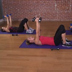 You can do anything for ten minutes right?! Try this muscle burning arm workout by Andrea Orbeck - trainer to Victoria Secret Models.