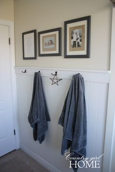 Love, love, love the burlap backed picture frames!