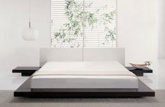 Worth Japanese Style Platform Bed - Queen