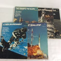 Petersens Book of Man in Space Volumes 1-5 Set of 5 Astronaut Space Race 1974 Vintage Space Travel Magazines Vintage Rocket Race by KoolKoolThangs on Etsy