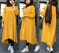 Modest Fashion Hijab, Casual Hijab Outfit, Hijab Chic, Fashion Outfits, Stylish Dresses For Girls, Stylish Dress Designs, Mode Abaya, Hijab Fashionista, Muslim Women Fashion