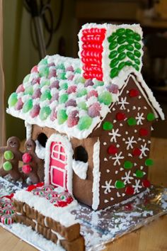 Gluten-free Gingerbread House by Healthful Pursuit