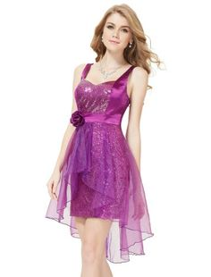 HE03229BP06, Baby Pink, 4US, Ever Pretty Short Dresses For Women ...