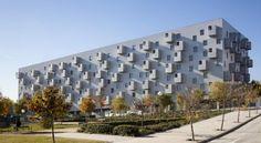 Residential Housing - Carabanchel, Madrid, Spain;  a social housing project designed by coco arquitectos;  photo by Miguel de Guzmán, Ignacio Izquierdo