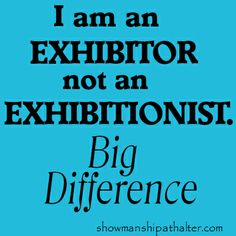 big big difference www.showmanshipathalter.com