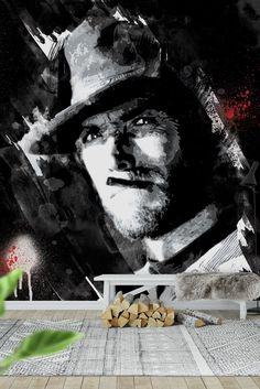 Clint Eastwood Wall Mural - Wallpaper