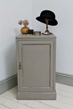 Large Distressed Vintage Bedside Cabinet - For Sale Bedside Cabinet, Tall Cabinet Storage, Distressed Bedroom Furniture, Cabinets For Sale, Bedside Tables, Scandinavian Home, Cumbria, Shabby Chic Style, How To Distress Wood