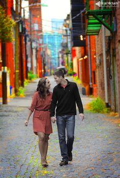 Suzana & Justin's October 2012 #engagement shoot in Hoboken, NJ (photo by deanmichaelstudio.com) #wedding #photography