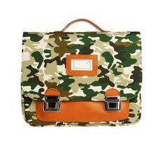 Hippe schooltas camouflage Jeune Premier #backtoschool @littlewannahaves