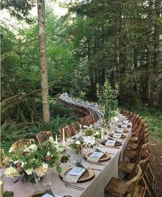 20 Woodland & Forest Wedding Reception Ideas is part of Forest wedding reception - tps header] Woodland weddings are amazing I really smell the forest aromas and hear the birds when I think of such a ceremony! Wedding Reception Ideas, Wedding Table, Rustic Wedding, Wedding Venues, Dessert Wedding, Redwood Wedding, Reception Party, Wedding Dinner, Church Wedding