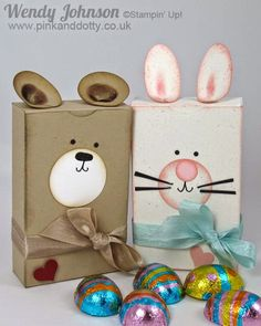 Pink and dotty bear easter bunny gift boxes with tutorial bear easter bunny gift boxes with tutorial negle Gallery