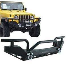 E-Autogrilles-87-06-Jeep-Wrangler-YJTJ-Xtreme-Front-Bumper-51-0029-0
