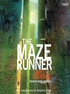 "Downloadable MP3 audiobook of ""The Maze Runner"" by James Dashner. Choice for Freshmen in Reading Enrichment and/or College Prep, or Instructional Freshman English."