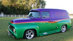 1956 Ford Panel Truck Resto Mod 302 CI, Automatic presented as lot F196 at Harrisburg, PA 2015 - image1