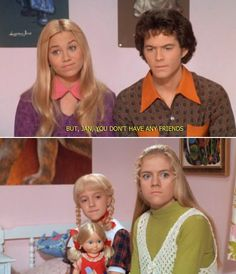 the brady bunch.. They did a great job casting this movie