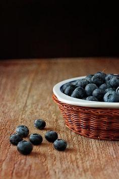Blueberries.  Summer.