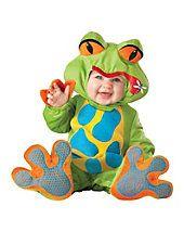 Infant & Toddler Animal Costumes - Lil Froggy Infant Toddler Costume