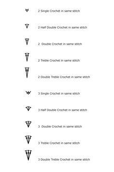 HookinCrochet™ - Tutorials - Crochet Symbols