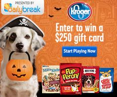 Kroger Challenge $$ Enter to Win a $250 Gift Card + $1 Milk-Bone Coupon!