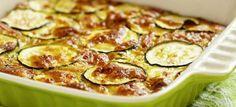 Abobrinha gratinada com queijo: simples e gostoso - Veja a Receita: