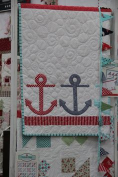 Maybee a good back for a boat quilt : original from bonnie and camille