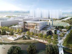 Galeria de Anunciado o projeto vencedor para a nova Faculdade de Arquitetura e Design da Universidade Wenzhou-Kean - 1