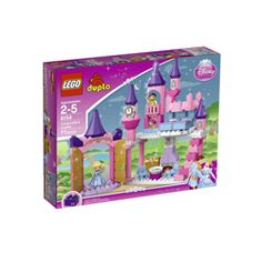 """DUPLO Disney Princess Cinderella's Castle $33, ages 2-6 """"I've been a little hesitant to indulge my daughter's princess obsession, but this has been a hit. If my little girl is going to play princess I'd much rather she focus on how to build Cinderella's castle rather than what clothes to dress her in... I can't tell you how many hours my little girl & her brother have spent playing """"castle"""" with Cinderella & Prince Charming (PERFECT if you have a brother/sister who are both in this age…"""