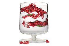 Moroccan Pomegranate Mint Yogurt Photo by: