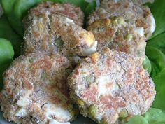 Smak Zdrowia: Kotlety jajeczne z groszkiem