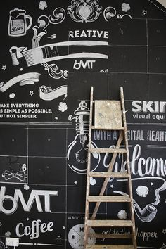 BMT London | Chalk Wall on Behance