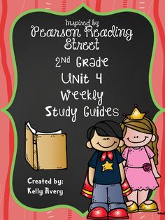 If the 2nd Grade Pearson Reading Street series guides your reading lessons, this set of weekly study guides for Unit 4 is perfect for parents and students to always be aware of each story's weekly vocabulary words, spelling words, grammar skills, reading strategies, and comprehension skills.  Click here to see what other teachers have to say about these weekly refrigerator study guides!
