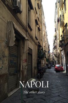 """The other story NAPOLI This is Naples streets, beautiful people, sun, food, street art, laughts, history, tradition, sea... ... And is also the city of LOVE In every place you'll meet """" kissing people """" ❤️ My favourite napoletano Photo by local"""