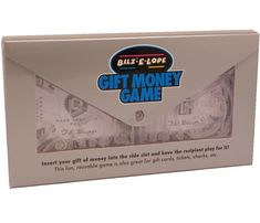 Bilz E-Lope Puzzle Money Gift Maze Brainteaser