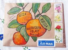 A gallery of mail-art created by me when I was just starting out. Mostly snail-mail envelopes on kraft paper, painted in gouache and watercolour.