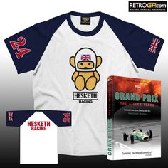 FREE 'Killer Years' Book with every Hesketh Crew T Shirt