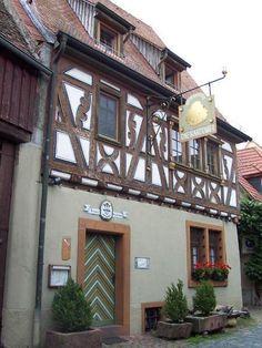 Die Kartoffel Restaurant in Ladenburg, Germany.