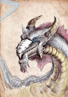 Cheval draw pinterest horse unicorns and tattoo dragon by gaileeiantart on deviantart fandeluxe Gallery