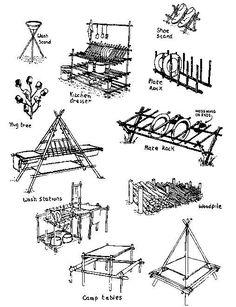 .Algunas construcciones scout