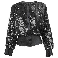 Vintage 80s Black Sequin Evening Jacket – THE WAY WE WORE