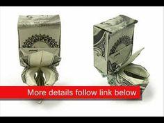 Money Origami Toilet bowl...  How cute....