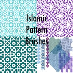 Islamic Arabesque Patterns by MsNoGood.deviantart.com on @DeviantArt