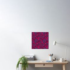 'Girl Power Empowering Women Floral Background' Poster by Sizzlinks Dark Forest, Blank Walls, Background S, Sell Your Art, Women Empowerment, Girl Power, Creative Design, Hot Pink, Gallery Wall