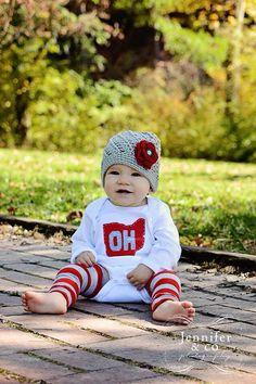 Ohio state baby